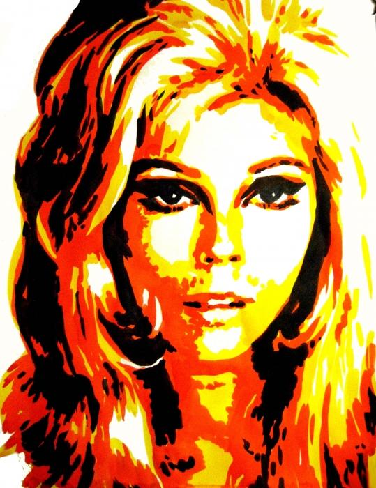 Nancy Sinatra by Bibourich
